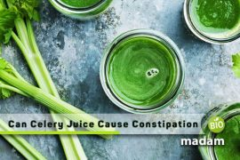 can celery juice cause constipation